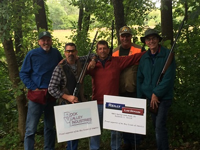 Support for Scouting through Sporting Clays.